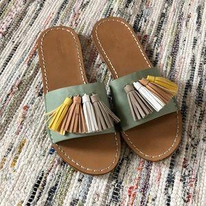 Shoes - Tassel Slides